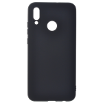 Coque TPU Soft Touch Noir pour Huawei Y6 2019 / Honor 8A