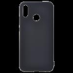 Coque TPU Soft Touch Noir Samsung A20E