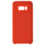 Coque Silicone Liquide Rouge pour Samsung S10 Plus