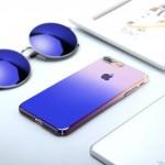 Coque Cameleon Bleu pour Apple iPhone 7/8