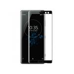 Verre Trempé Bord à Bord 2.5D Noir pour Sony XA1 Ultra