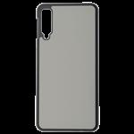 Coque Rigide Noir et plaque Alu pour Samsung A7 2018