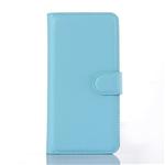 Étui Folio Cuir Bleu pour Apple iPhone 5/5S/SE