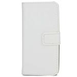 Étui Folio Cuir Blanc pour Apple iPhone 5/5S/SE