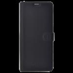 Folio Samsung A8 2018 Star Clippers Cuir Noir