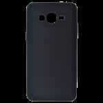 Coque TPU Soft Touch Noir pour Samsung J1