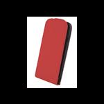 Étui à Rabat Elegance Rouge pour Samsung Ace 4