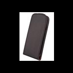 Étui à Rabat Élegance Noir pour Samsung Ace 4