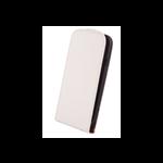 Étui à Rabat Élegance Blanc pour Samsung Ace 4