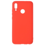 Coque TPU Soft Touch Rouge pour Huawei Y6 2019 / Honor 8A