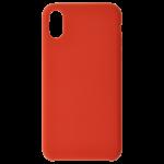Coque Silicone Liquide Rouge pour Samsung A10