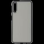 Coque Souple Noir et plaque Alu pour Samsung Galaxy A20E
