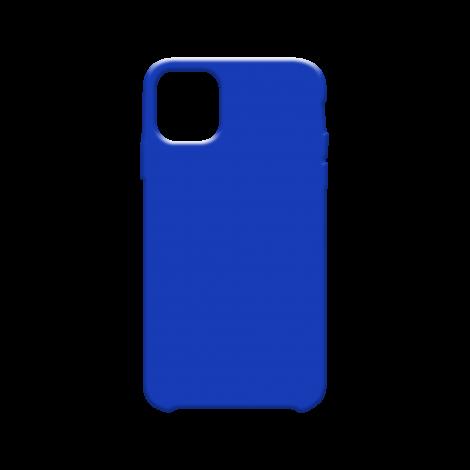 Coque Silicone Liquide Bleu pour Apple iPhone 11 Pro Max