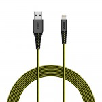 Cable SoSkild Ultimate Lightning 1.5m Noir/Jaune