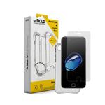 Pack SoSkild Coque Absorb et Verre Trempé Transparent pour Samsung S9 Plus