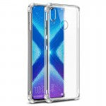 Coque TPU Transparent Hard Corner pour Huawei P Smart Z