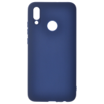 Coque TPU Soft Touch Bleu pour Huawei P Smart Z / Y9 Prime 2019
