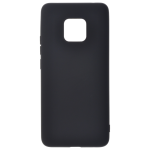 Coque TPU Soft Touch Noir pour Huawei Mate 20 X