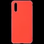Coque Silicone Liquide Rouge pour Samsung S20