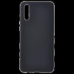 Coque Silicone Liquide Noir pour Samsung S20