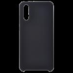 Coque Silicone Liquide Noir pour Samsung Note 10 Plus