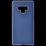 Coque Silicone Liquide Bleu Marine pour Samsung Note 10 Plus