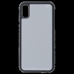 Coque Souple Noir et plaque Alu pour Samsung Galaxy A71
