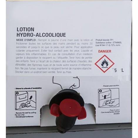 Solution Hydro Alcoolique Cubi 5 Litres