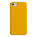 Coque Silicone Liquide Orange pour Apple iPhone XS Max