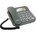 Téléphone Filaire Telefunken TF 501 Ecran Solo Silver