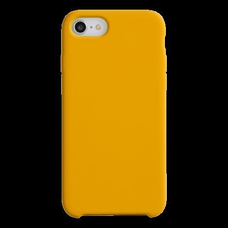 Coque Silicone Liquide Orange pour Apple iPhone 11 Pro