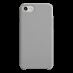 Coque Silicone Liquide Gris pour Apple iPhone X/XS