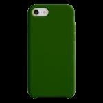 Coque Silicone Liquide Vert pour Apple iPhone 7/8