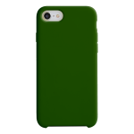 Coque Silicone Liquide Vert pour Apple iPhone X/XS