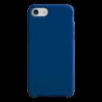 Coque Silicone Liquide Bleu Marine pour Apple iPhone 7/8 Plus