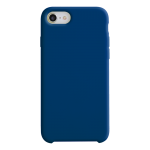 Coque Silicone Liquide Bleu Marine pour Apple iPhone 7/8