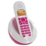 Téléphone Dect Telefunken TB 201 Peps Solo Rose