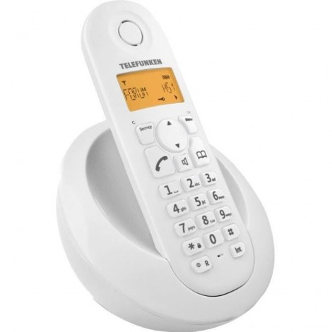Téléphone Dect Telefunken TB 201 Peps Solo Blanc