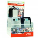 LES INDISPENSABLES Présentoir Mini Powerbank 4000 Mah TQ