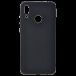Coque TPU Soft Touch Noir pour Samsung A42