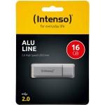 Clé USB 16 Gb Intenso Alu Line Anthracite