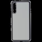 Coque Souple Noir et plaque Alu pour Samsung Galaxy A52