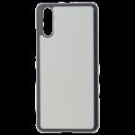 Coque Souple Noir et plaque Alu pour Samsung Galaxy A32