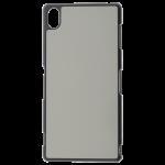Coque Souple Noir et plaque Alu pour Samsung Galaxy A12