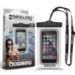 Pochette Etanche pour Smartphone Seawag Noir et Blanc