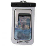 Pochette Etanche pour Smartphone Seawag Blanc et Noir