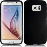 Coque TPU Glossy Noir pour Samsung S6 Edge+