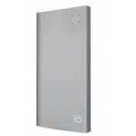 Batterie de Secours Power Bank 10000 mAh Aluminium Ultra Slim Argent