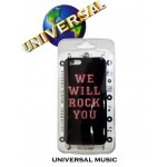 Coque Universal Music We Will Rock You pour Apple iPhone 5/5C/5S/SE