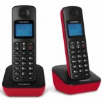TELEPHONE DECT THOMSON TH025D2RD MICA DUO ROUGE